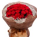 (100송이)빨강장미꽃다발3